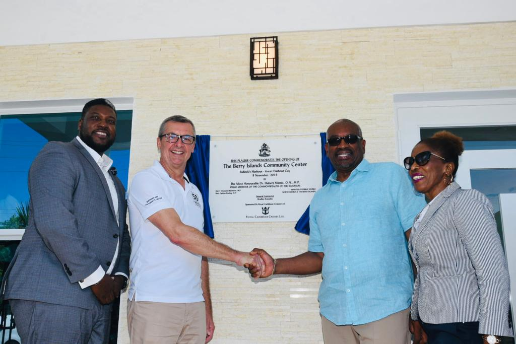 PM opens Berry Islands community center