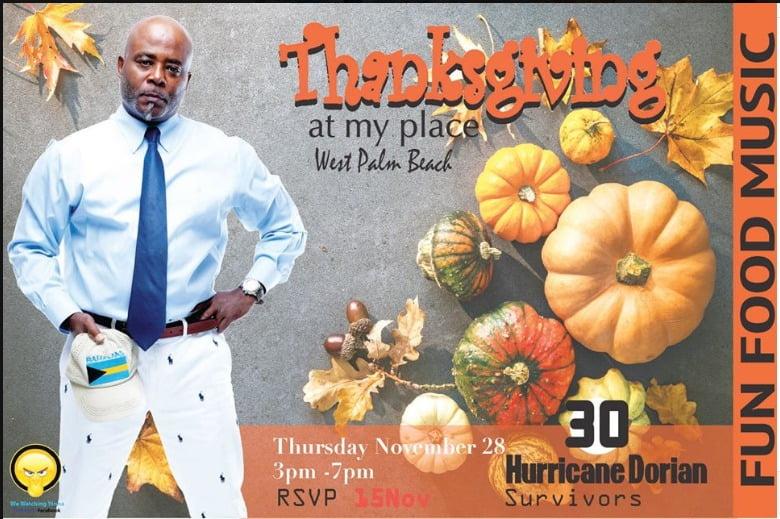 Bahamian Hurricane Dorian evacuees gather for Thanksgiving in Florida