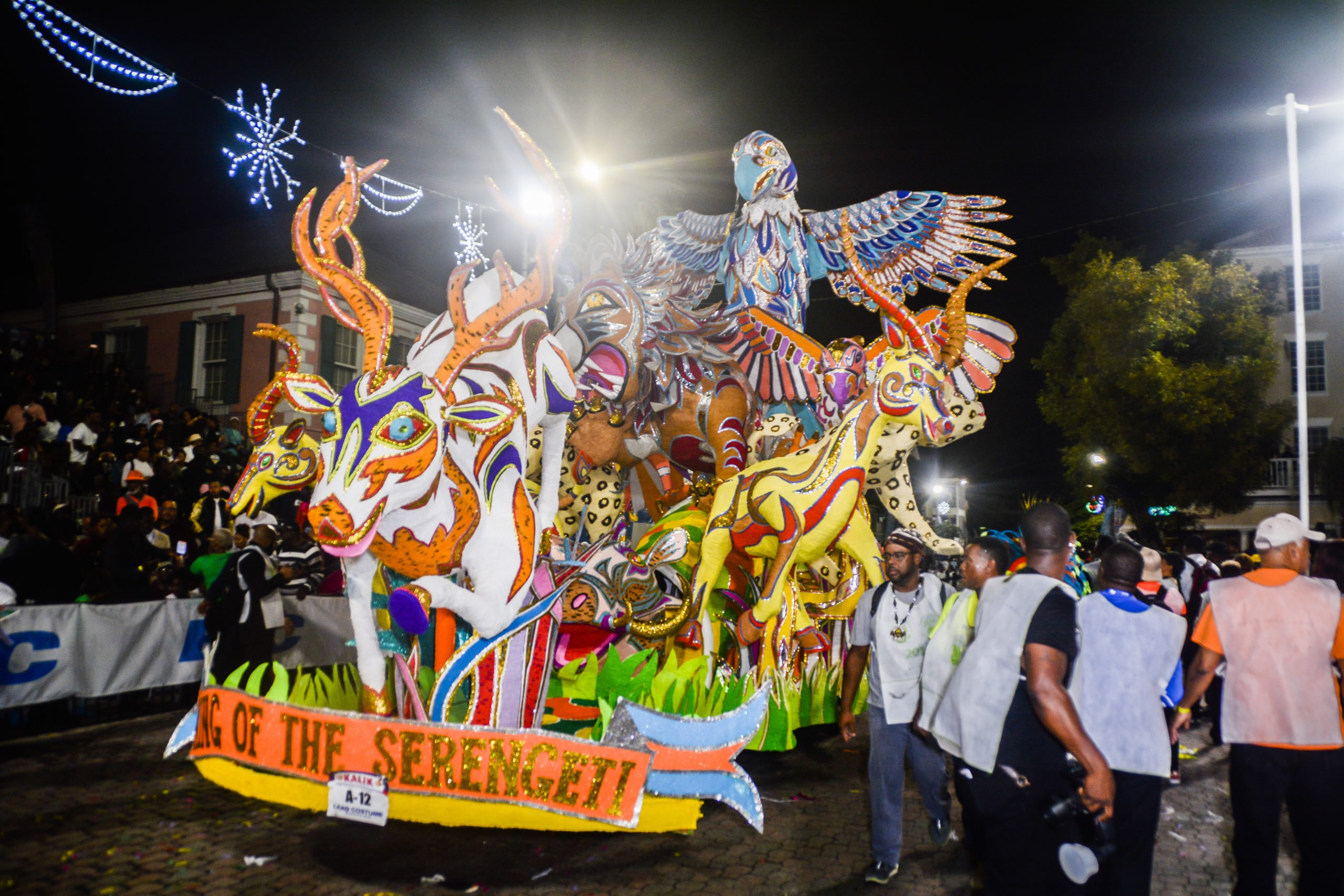 30 percent chance of rain during New Year's Junkanoo parade