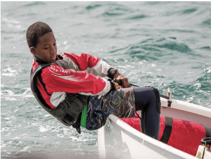 Weech turns in top two finishes at optimist regatta in Uruguay