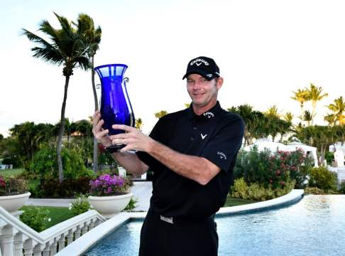 Tommy Gainey earns four-shot win at The Bahamas Great Exuma Classic at Sandals Emerald Bay