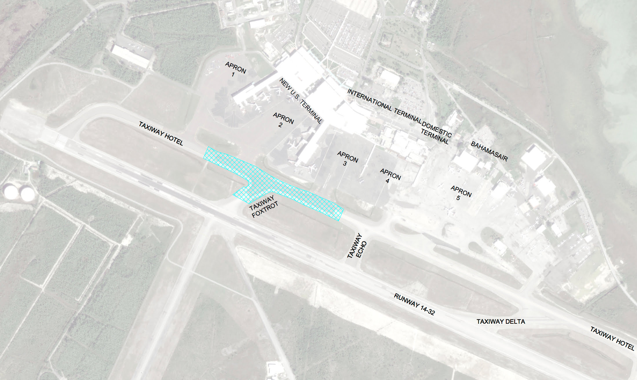 Potential delays ahead as LPIA airside pavement works begin