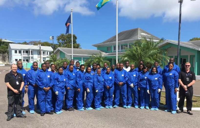 UK disaster victim identification specialists train 30 Bahamian officials