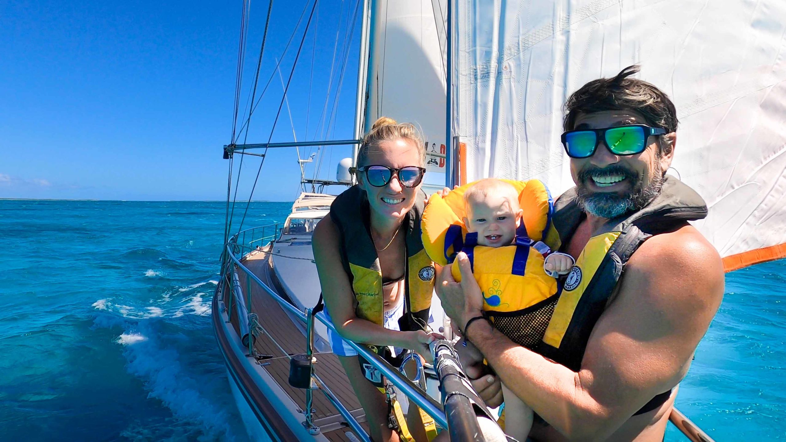 Sailing vloggers defend isolation in Bahamian waters