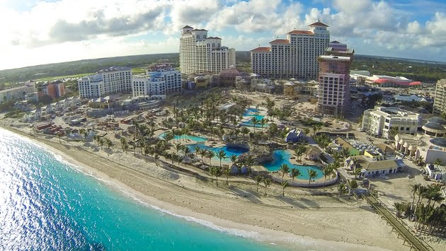 Baha Mar dine-in reopens for non-registered guests; COVID antigen test required