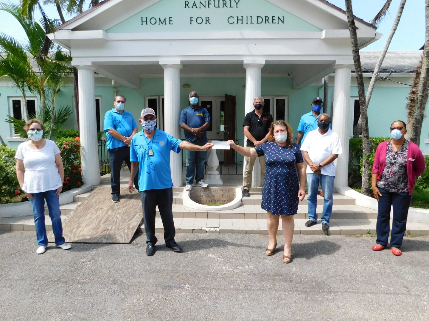 Rotary Bahamas donates $100k to support children displaced by Dorian