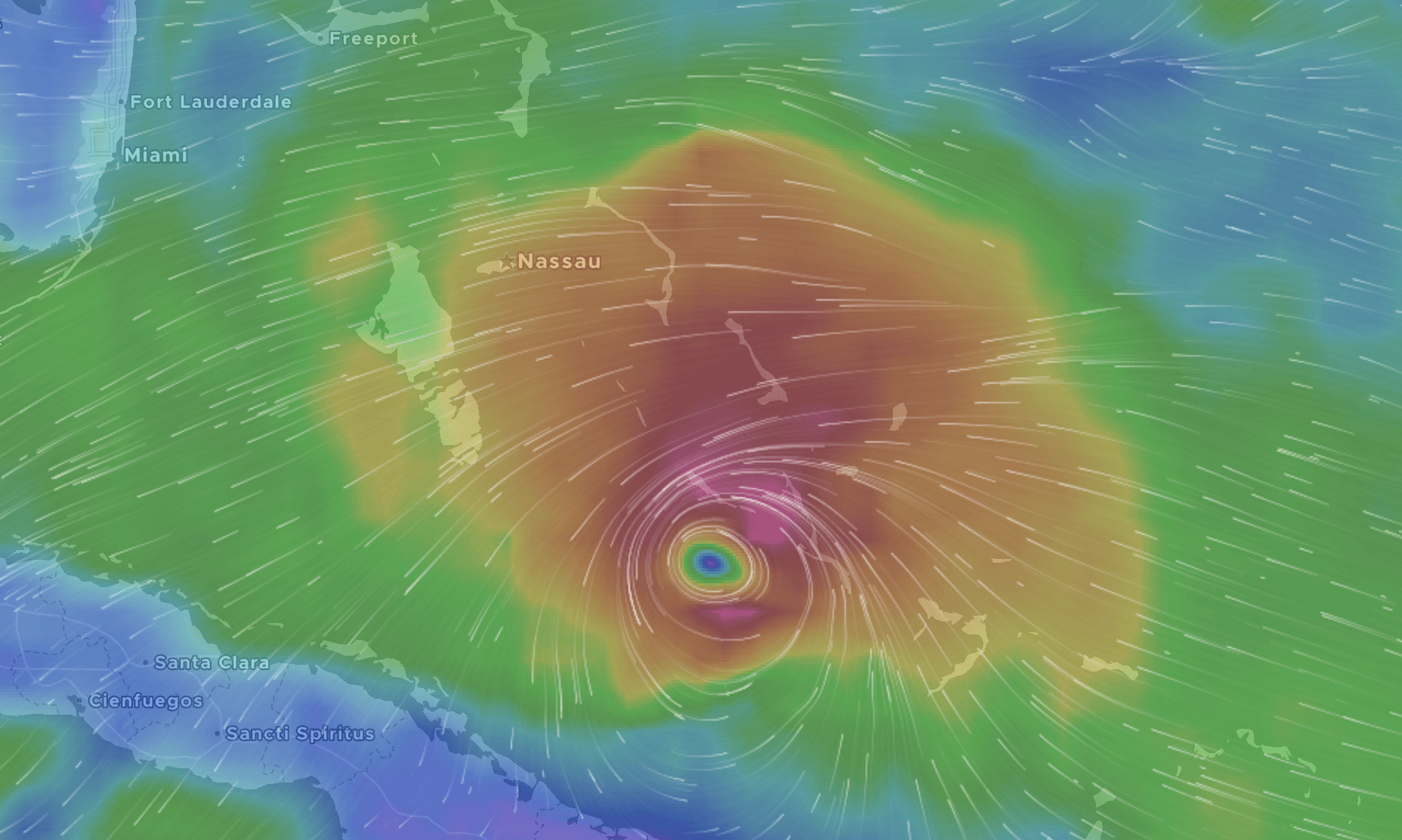 ISAIAS UPDATE: Long Island, Exuma undergoing strong winds