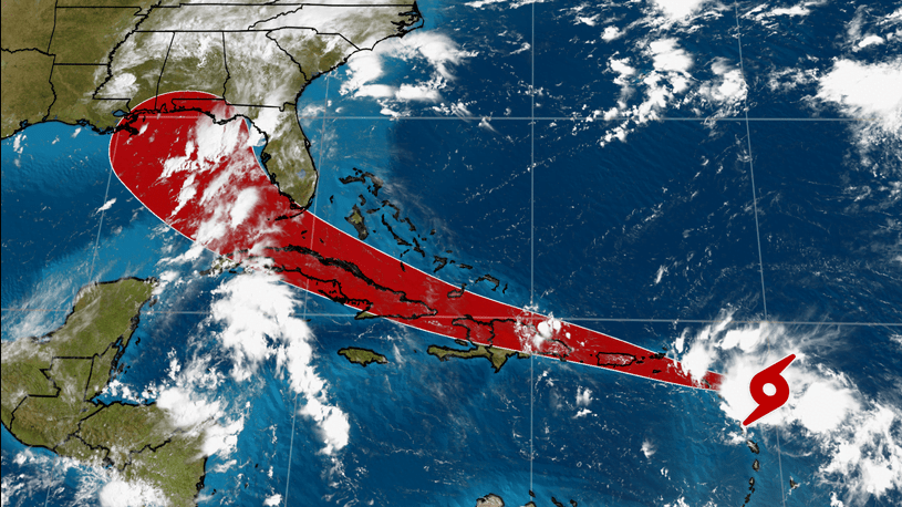 Tropical Storm Laura forms in Atlantic, storm shifts west