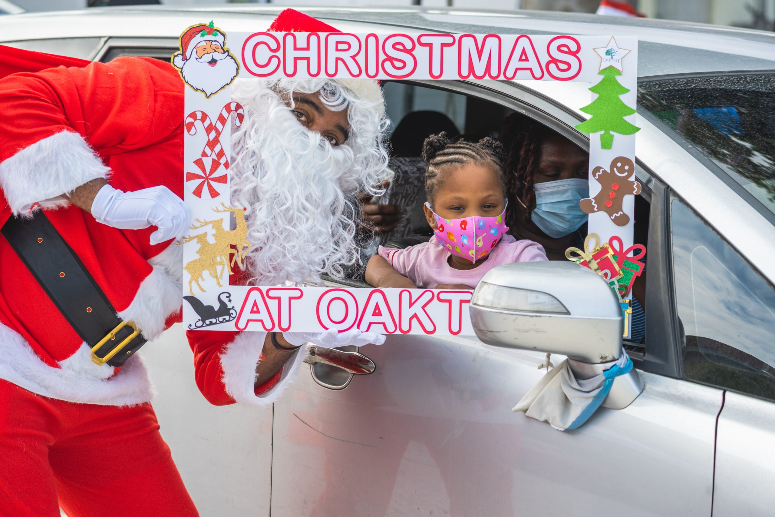 First Christmas at Oaktree event spreads joy to dozens of children