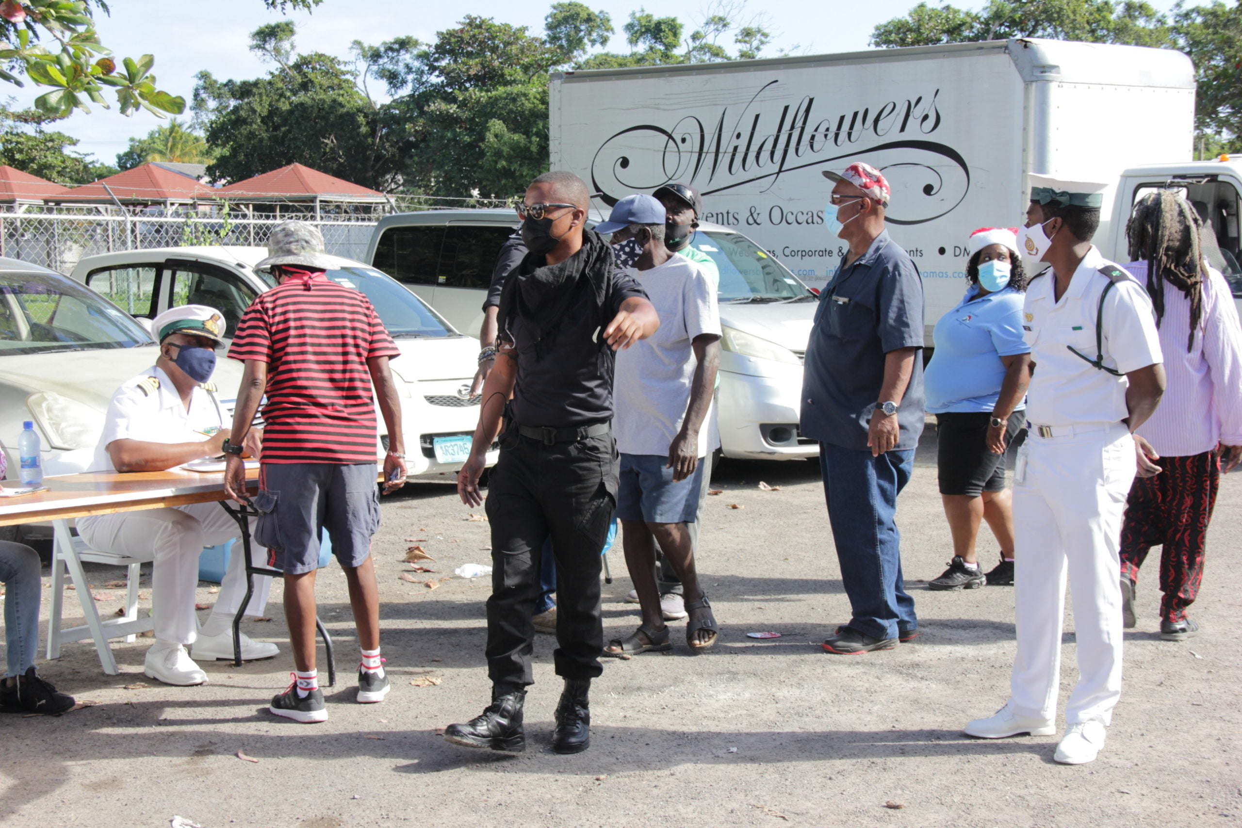 Wildflowers partners with NGO, RBDF for community relief