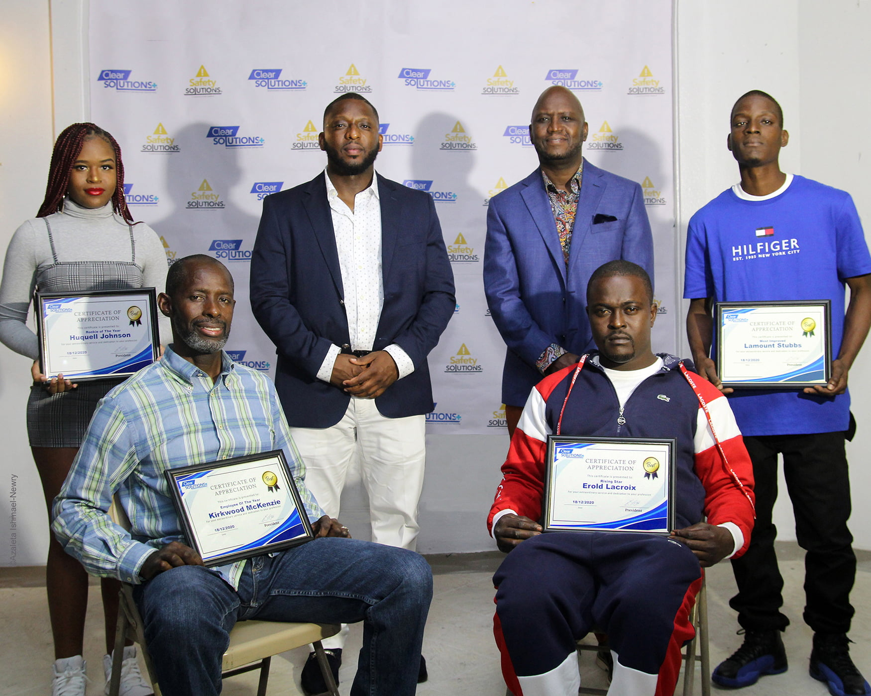 Clear Solutions Plus recognizes top employees