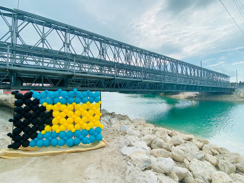 PM opens new Roderick Newton Higgs Bridge on Spanish Wells