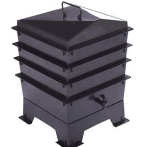 wormenbak zwart