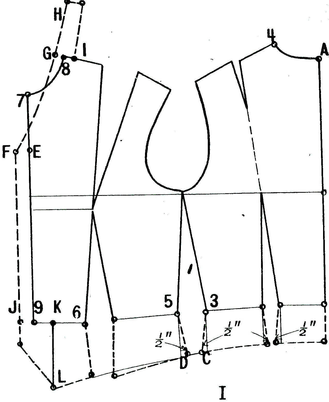Designing From A Woman Bodice Pattern