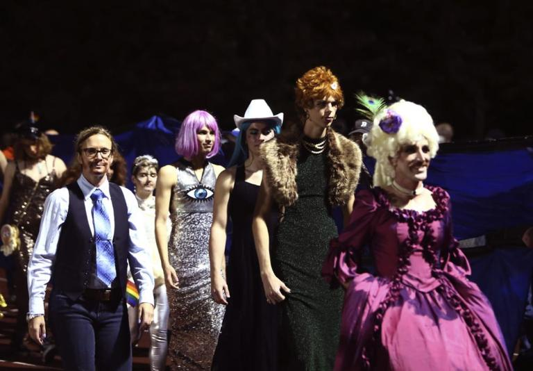 Watch Hail, Mary! Highschool's halftime present is a drag pageant – Texas U.S. News