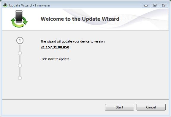 Huawei E303 Firmware installation wizard
