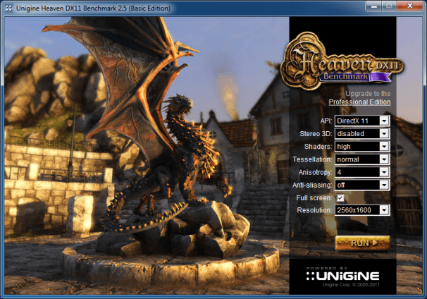 Benchmark Your PC: Unigine Heaven; click for full-size image.