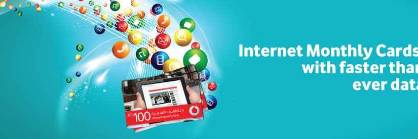 Vodafone Qatar Internet Data Plans – Internet Packs & Recharge Codes