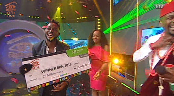 BBNaija 2018: Miracle Declared Winner of 2018 Edition ahead of Cee-C
