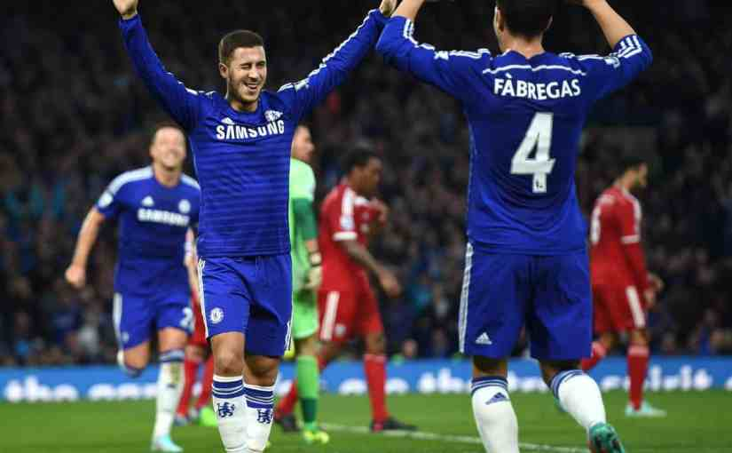 Eden Hazard says Goodbye to 'great friend' Cesc Fabregas saying that he was lucky to Play with him in his Career.