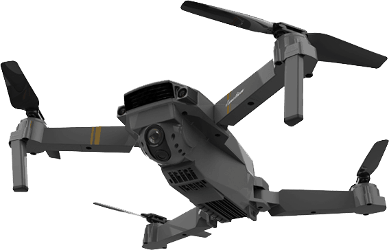 Portable Drone X Pro with HD Camera Helps you Film and take Pictures