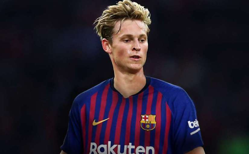 Barcelona Signs Dutch Midfielder Frenkie De Jong from Ajax