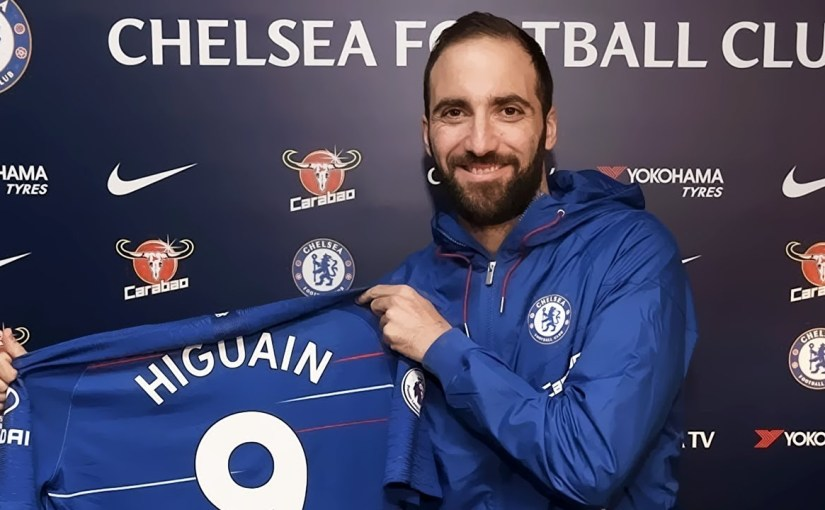 Gonzalo Higuain Completes Loan Move to Chelsea