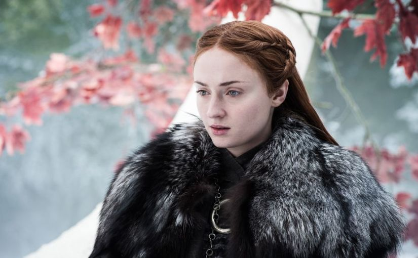 Sophie Turner (Sansa Stark) Revealed the ending of 'Game of Thrones' Season 8