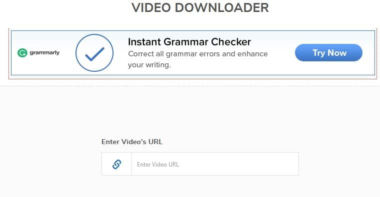 All Video Downloader by SmallSEOtools