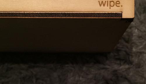wipe. アカチャンホンポのおしりふきケース 木製