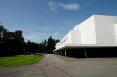 Finlandia Hall フィンランディアホール 白い直線の綺麗な建物