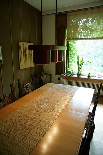 The Aalto House - dining room アアルト自邸 ダイニングルームとアイノ・アアルトデザインのタンブラー