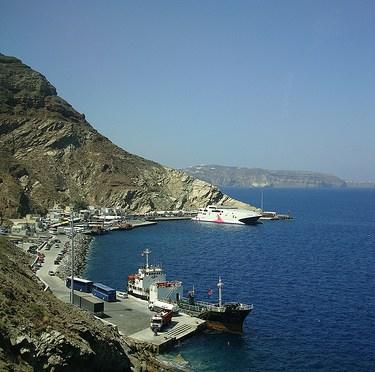 Santrini to Mykonos サントリーニ島からミコノス島・船で移動