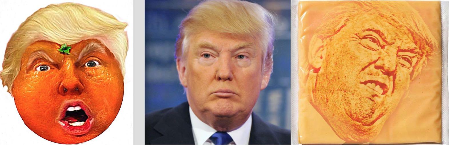 Donald Trump color complexion orange