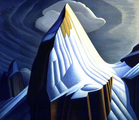 Lawren Harris Mount Lefroy