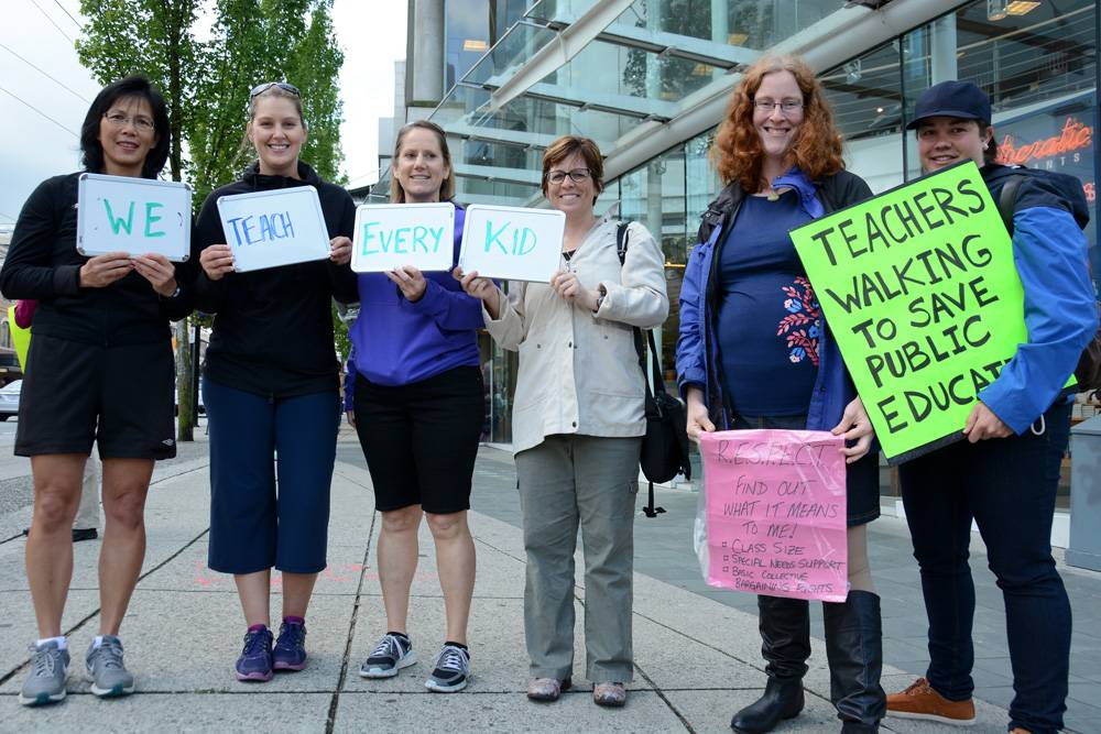 BC Teachers demand free and open collective bargaining
