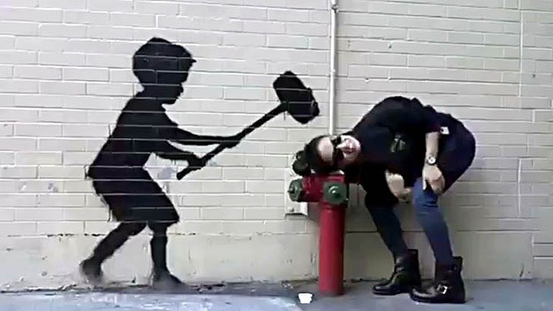Banksy Does New York in style