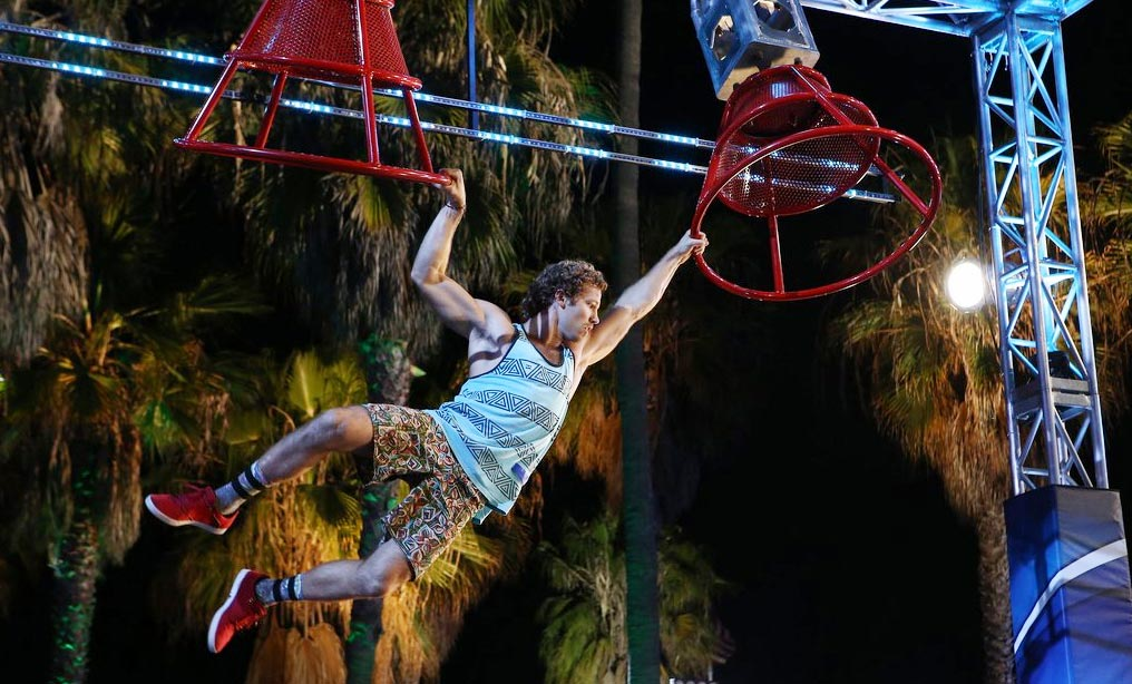 "AMERICAN NINJA WARRIOR -- ""Venice"" -- Pictured: Grant McCartney (Courtesy NBC)"
