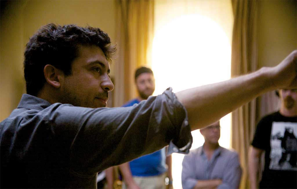 Alfonso Gomez-Rejon directs on Me and Earl and the Dying Girl
