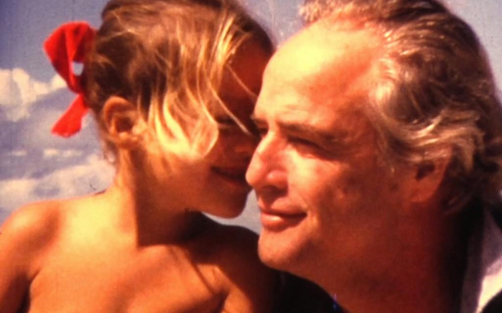 Marlon Brando and Cheyenne