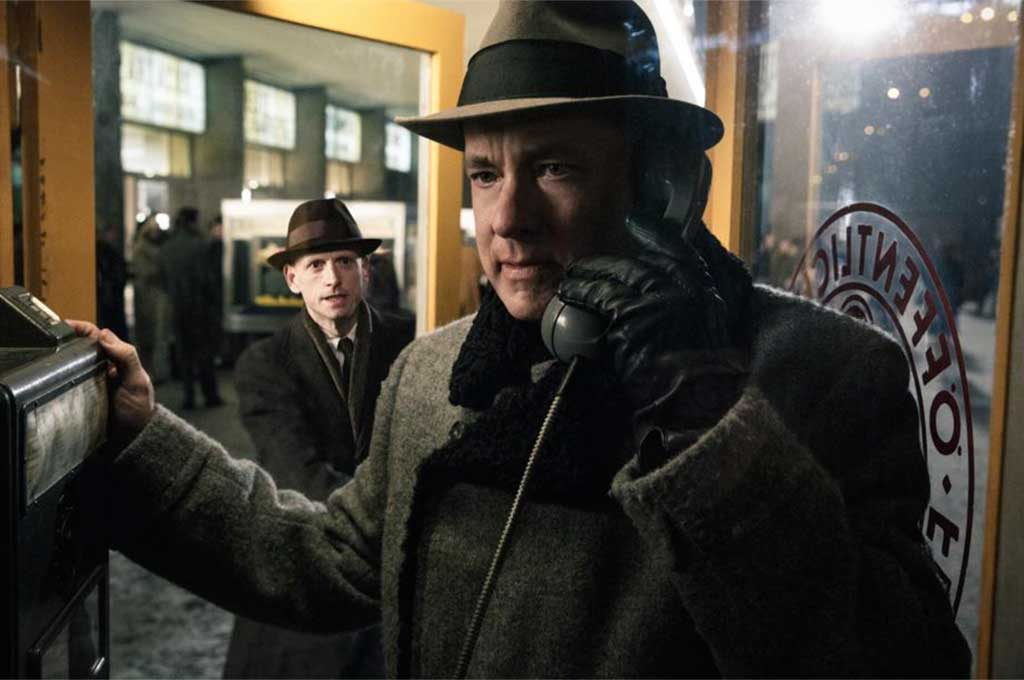 Bridge of Spies Starring: Tom Hanks, Mark Rylance, Alan Alda, Amy Ryan, Austin Stowell Directed by: Steven Spielberg