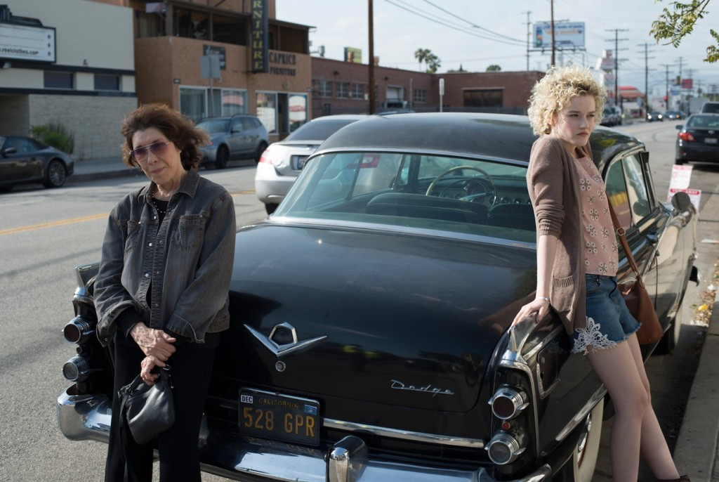 Lily Tomlin and Julia Garner star in Grandma