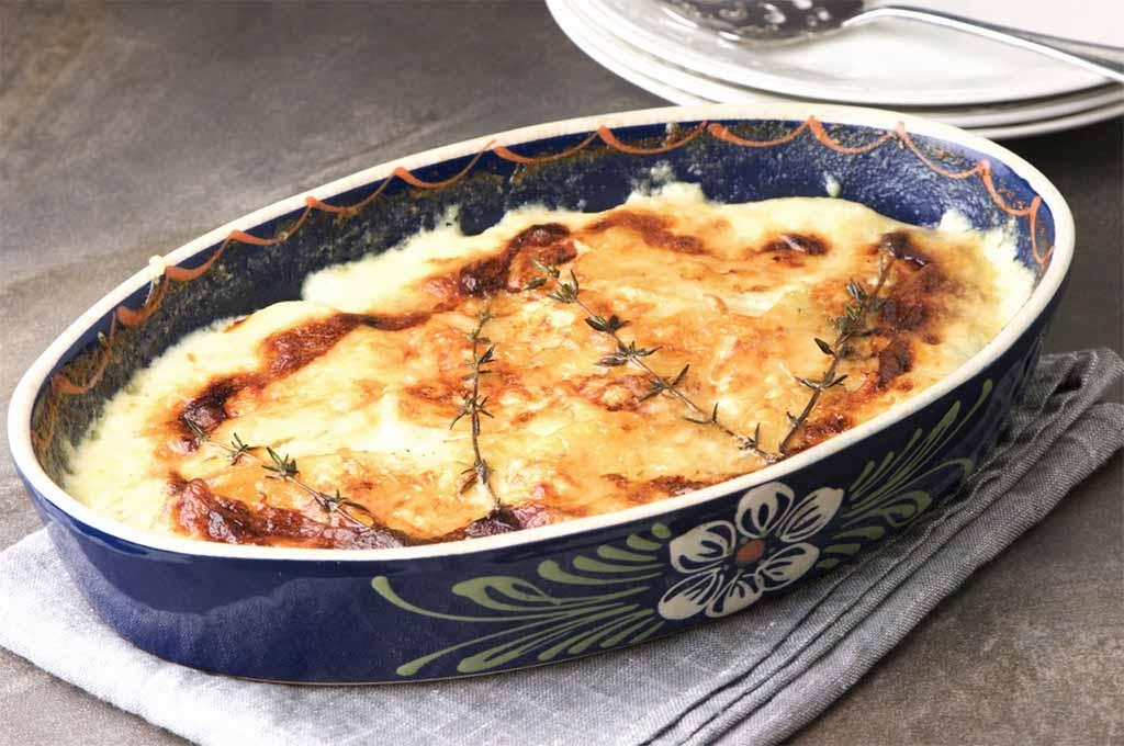 potato gratin Louise Crosby recipe