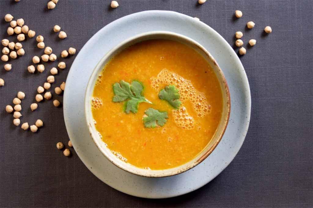 soup recipe food pulse chickpea