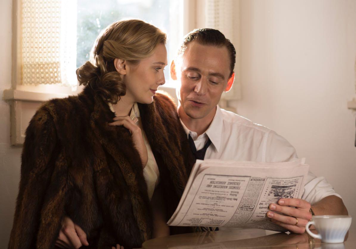 Tom Hiddleston I Saw the Light Elizabeth Olsen Hank Williams Movie
