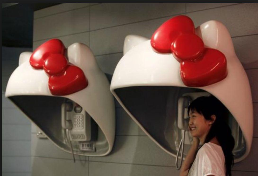 Tokyo Hello Kitty Phone