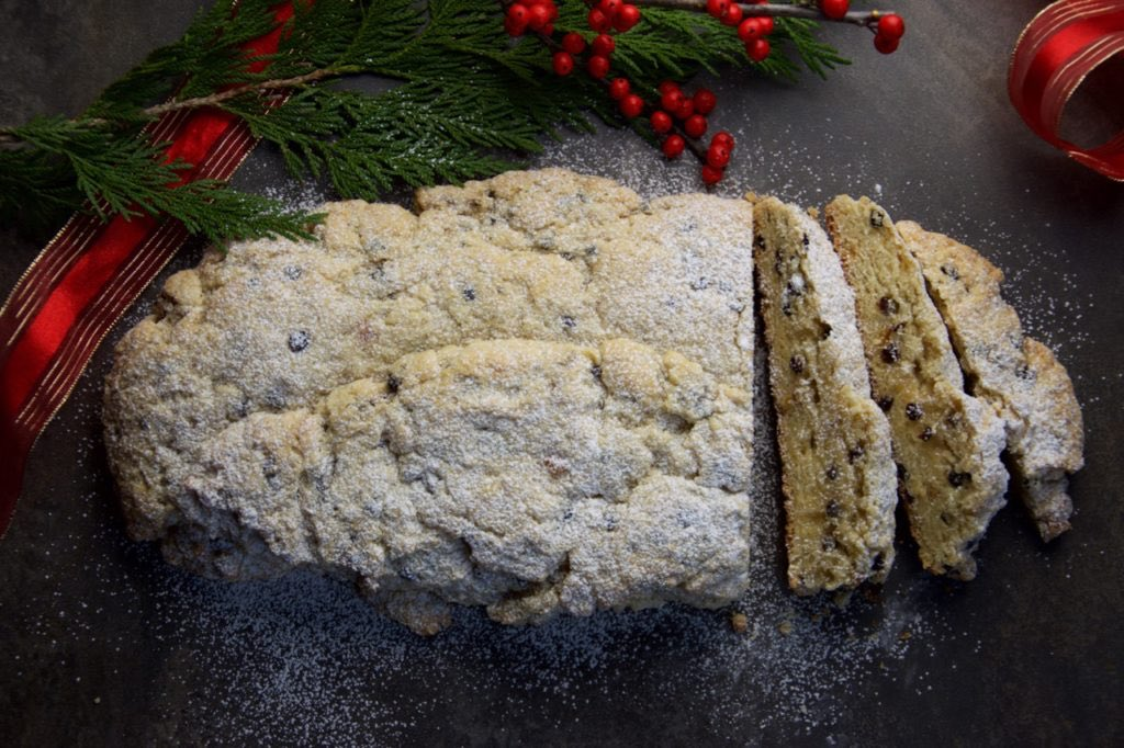 Christmas Stollen: No need to steal a page from the Grinch when you can give a guilt-free loaf of Stollen goodness.