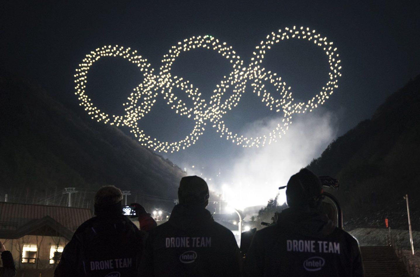 Drone Intel PyeongChang Olympics