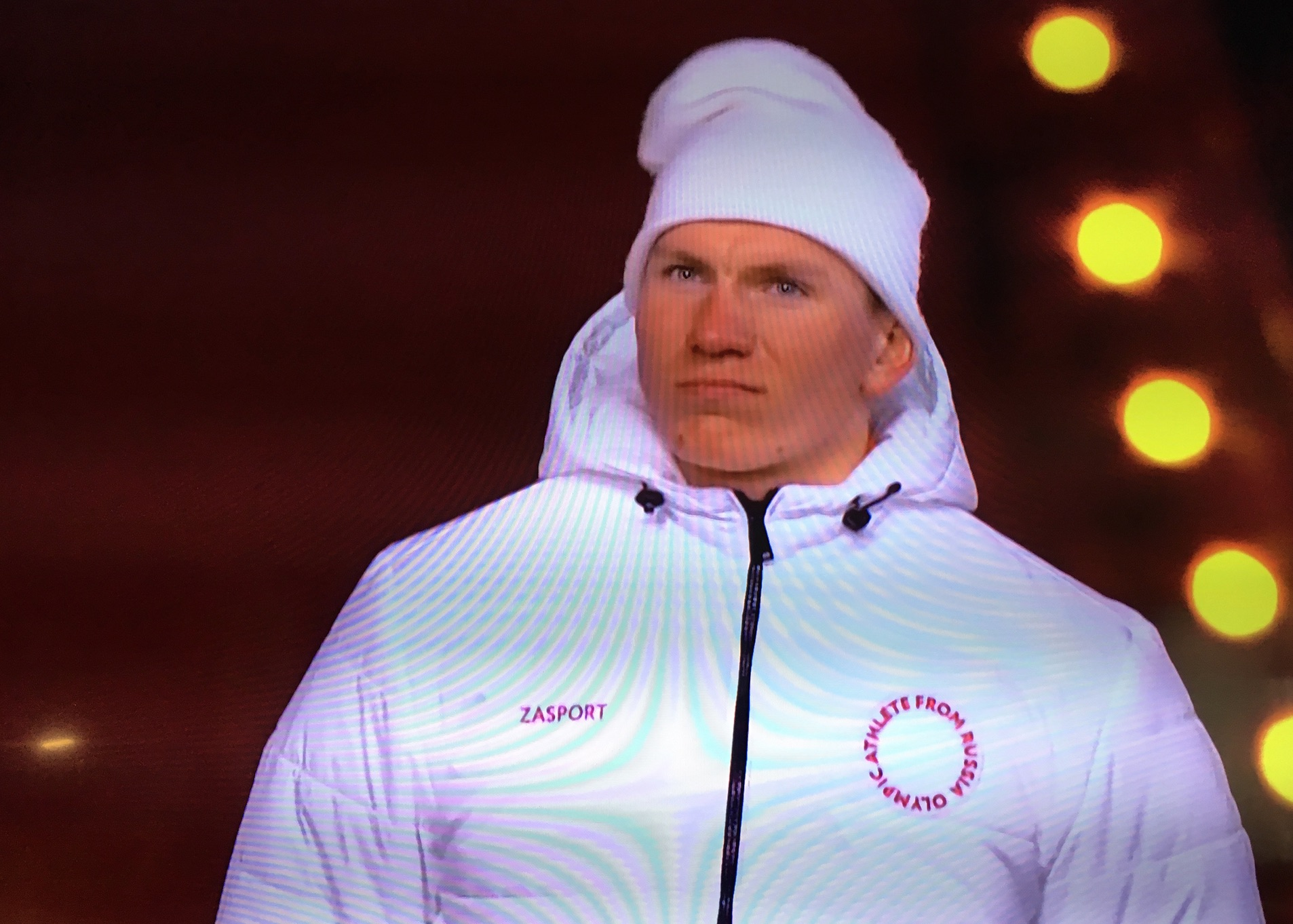 Olympic Athlete from Russia Team Smurf PyeongChang