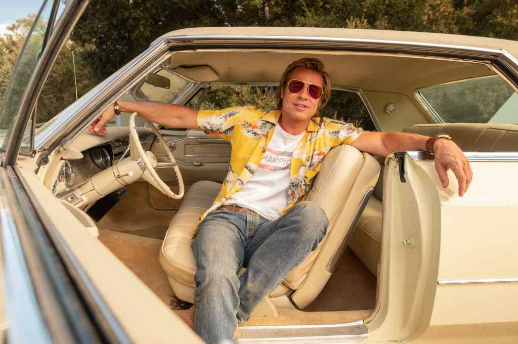 Brad Pitt Cliff Stuntman Tarantino